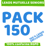 pack 150 leads mutuelle