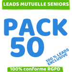 pack 100 leads mutuelle senior